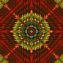 Perpective Planes Mandala by Richard H. Jones
