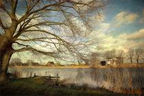 On The River Side von Annie Snel - van der Klok