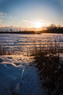 Sonnenschein auf dem Schnee von gilidhor