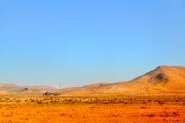 Malerische Landschaft in der Wüste von Marokko von Gina Koch