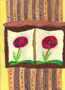 Florlas In Windows by Denise Davis