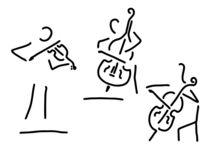 geiger cellistin streicher kontrabass by lineamentum