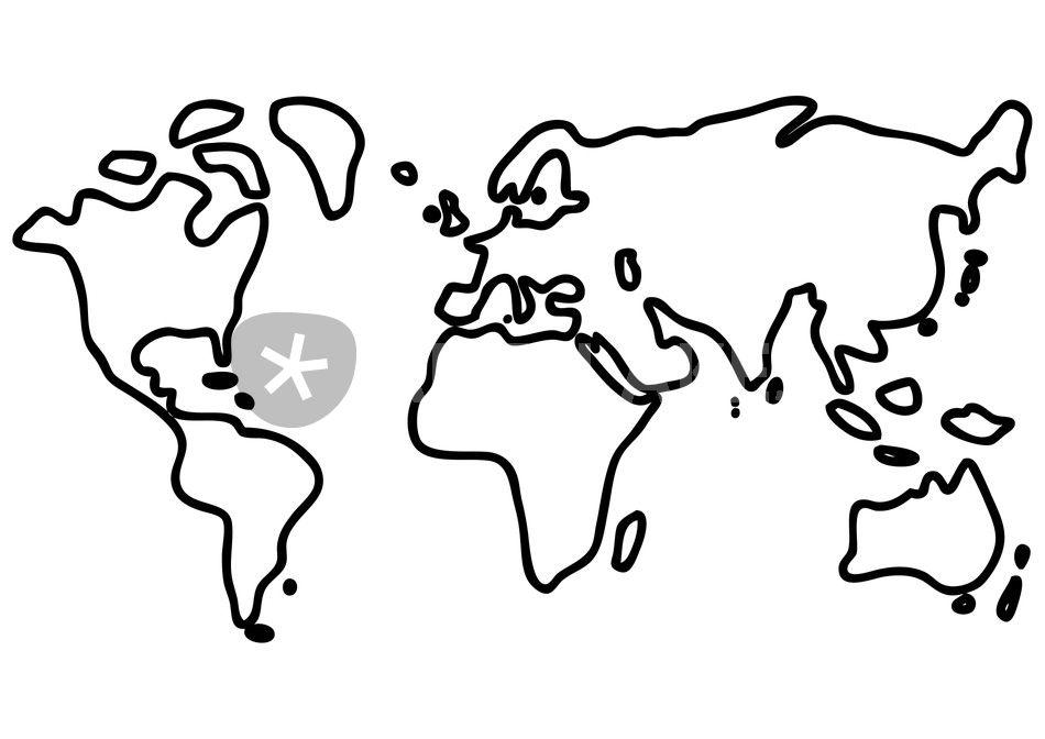 Großzügig Kontinent Malvorlagen Galerie - Ideen färben - blsbooks.com