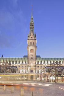 'Rathaus - Town hall Hamburg' by Marc Heiligenstein