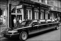 Stretch Limo at Court of the Two Sisters by Michael Whitaker