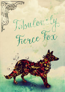 Fabulously Fierce Fox by Sybille Sterk