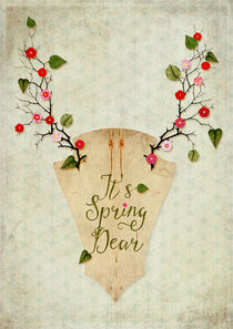 It's Spring Dear by Sybille Sterk