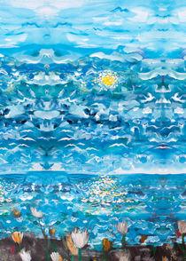 Ocean blue by Beate v.d.Sand