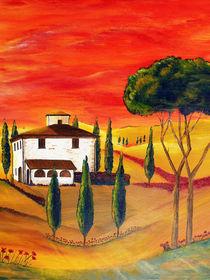 Wärme der Toskana by Christine Huwer