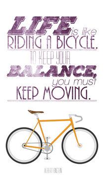 Einstein-fahrrad-lila