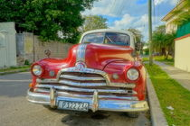 Pontiac-Oldtimer in Havanna, Cuba von Christian Behring