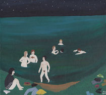 Nightswimming von Angela Dalinger