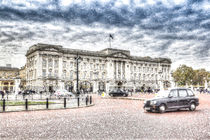 Buckingham Palace Snow by David Pyatt