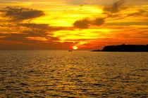 Sonnenuntergang vor Trinidad