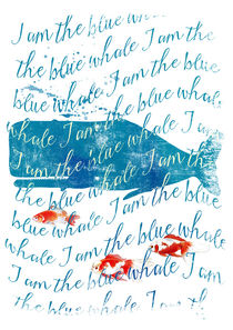 I am the Blue Whale von Sybille Sterk