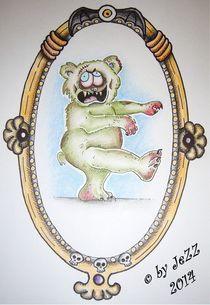 Zombieteddy von Jay Gnomenfrau