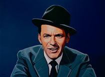 Frank Sinatra painting by Paul Meijering