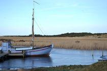 Fischerboot von Ute Bauduin