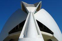 Valencia, Palau de les Arts, Dachkonstruktion von Frank Rother