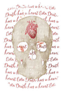 even death has a heart von Sybille Sterk