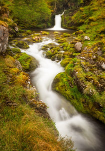 Assynt Waterfall by Maciej Markiewicz