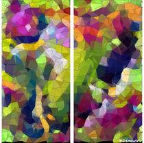 Abstrakte Mosaik #7 by badrig