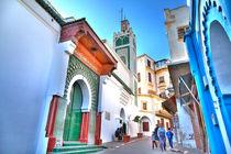 """Die prachtvolle """"Große Moschee"""" im Herzen der Medina von Tanger von Gina Koch"""