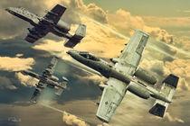 DM A10's over Belgium von Peter Scheelen