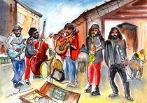 Sineu Street Musicians by Miki de Goodaboom