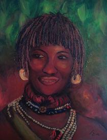 African Bride by Izabella Czaplinska