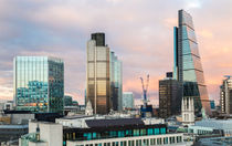 City of London Evening Skyline by Graham Prentice