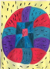 Bulls Eye von Denise Davis