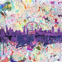 london skyline abstract von bekimart