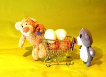 Wenn zwei Bären Eier holen... by Olga Sander