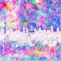 london skyline,england by bekimart