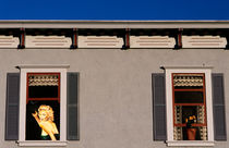 Window Art Marilyn Monroe by Jim Corwin