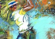 Lady Golf 01 von Miki de Goodaboom