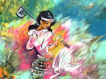 Lady Golf 02 von Miki de Goodaboom