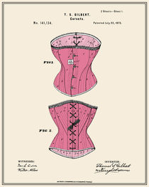 Corset Patent - Colour by Finlay McNevin