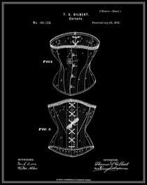 Corset-patent-black
