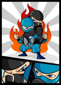Fighting Ninjas von Sapto Cahyono
