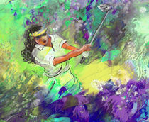 Lady Golf 06 von Miki de Goodaboom