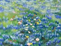 Spring Flowers in Texas von Linda Ginn