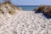 Der Weg zum Strand by Jörg Hoffmann