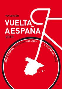 MY VUELTA A ESPANA MINIMAL POSTER 2015 by chungkong
