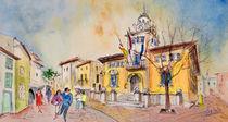 Alcudia Street in Majorca von Miki de Goodaboom