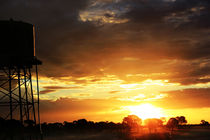 Sunset of the Australian Outback by bentastic-photography