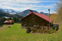 Allgäu - Alpe mit der St. Josefs Kapelle - Chapel von Mark Gassner