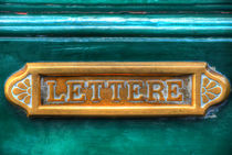 Lettere by Peter Bergmann
