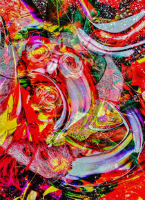 Abstrakt in Perfektion 5 by Walter Zettl